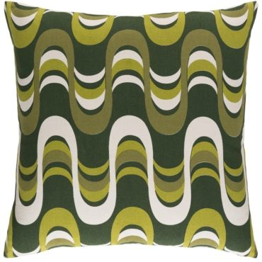 Mid-century modern throw pillow, the perfect Mid-Century modern gift idea for Christmas