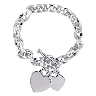 Silver toggle bracelet the perfect jewelry gift ideas for friends