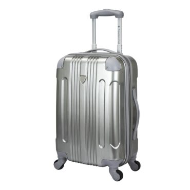 Metallic luggage, the perfect Christ gift idea for your girlfriend