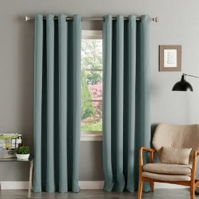 A set of green window treatments that are a new home essential