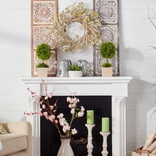 Mantel Decorating Ideas by Season | Overstock.com