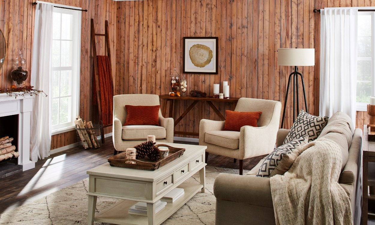 Autumn Decorating Ideas for the Living Room