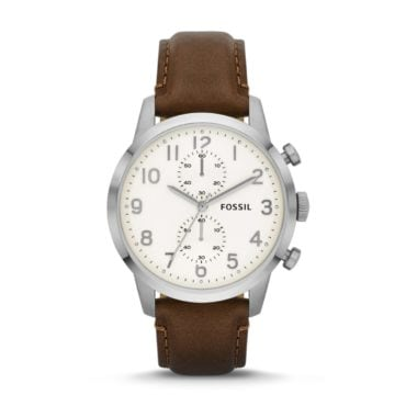 A mens casual leather watch, a perfect Christmas gift idea