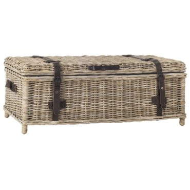 A decorative chest, a type of furniture for your bedroom