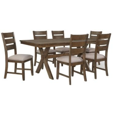 A dining room set, a type of furniture for your dining room