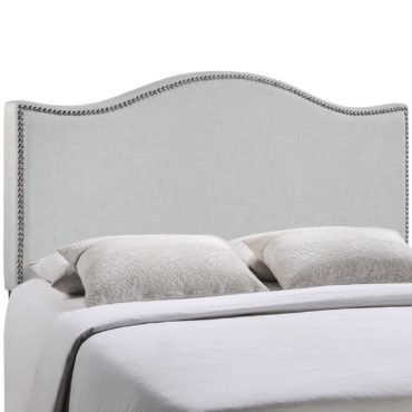 A headboard, a type of furniture for your bedroom