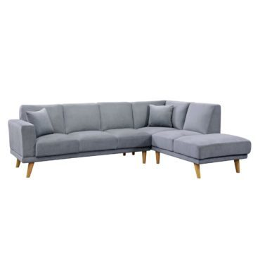 Grey sectional sofa, a type of furniture for your living room