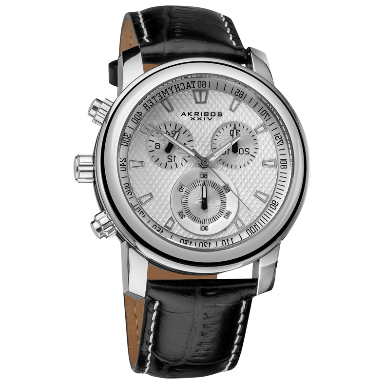 A casual chronograph watch