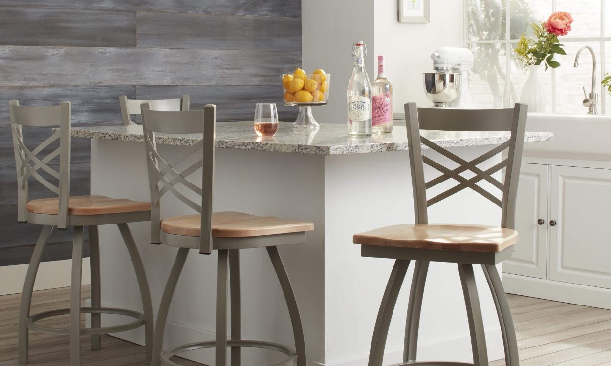 Bar stool height guide