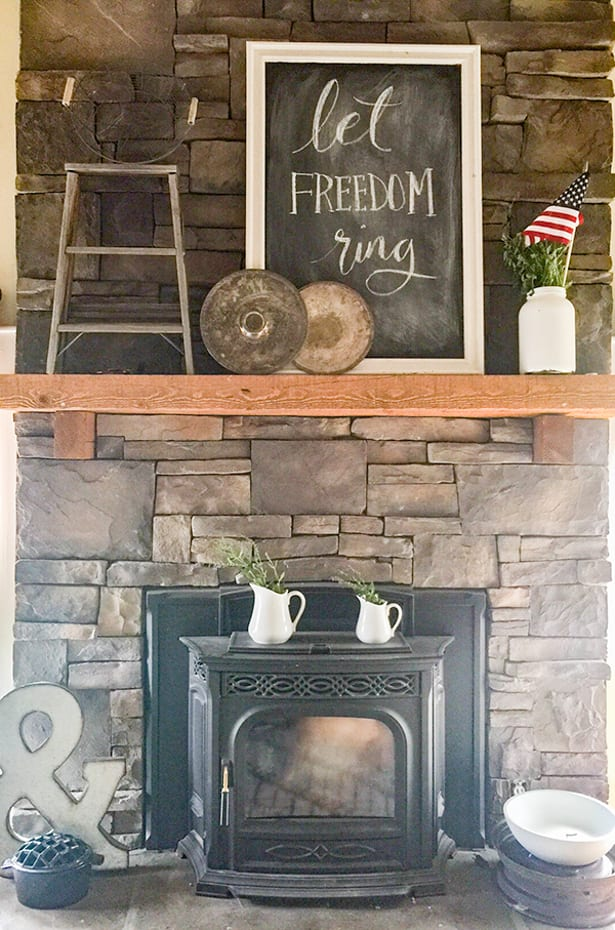 15 Mantel Decor Ideas for Above Your Fireplace - Overstock com