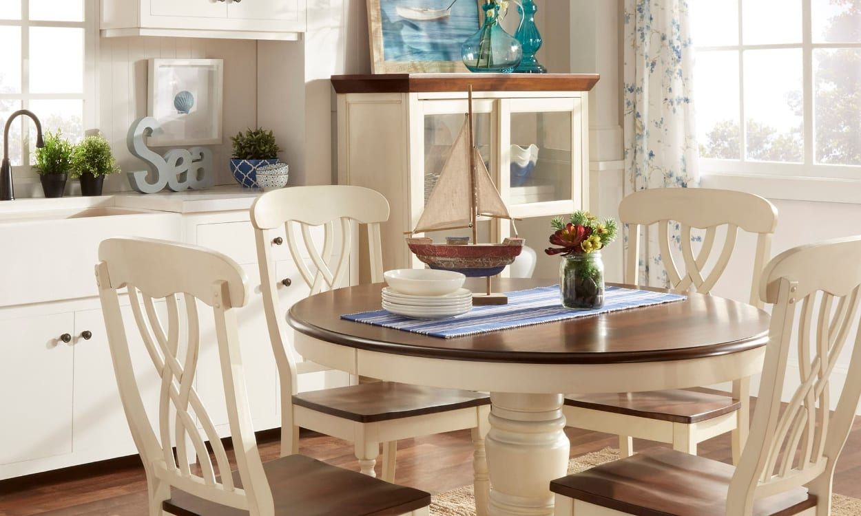Captivating Coastal Dining Room