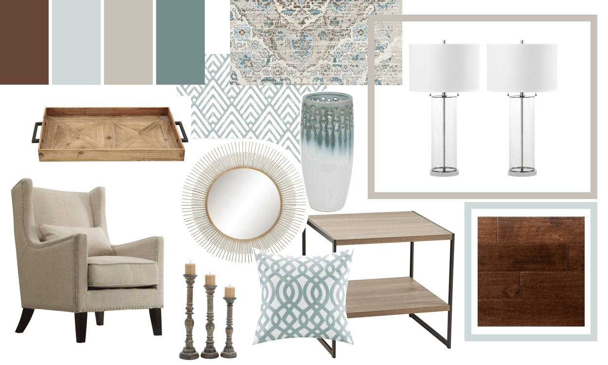 Create a mood board, the second step in becoming your own interior designer