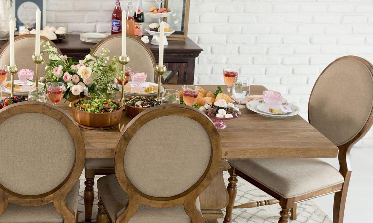 English cottage dining room set