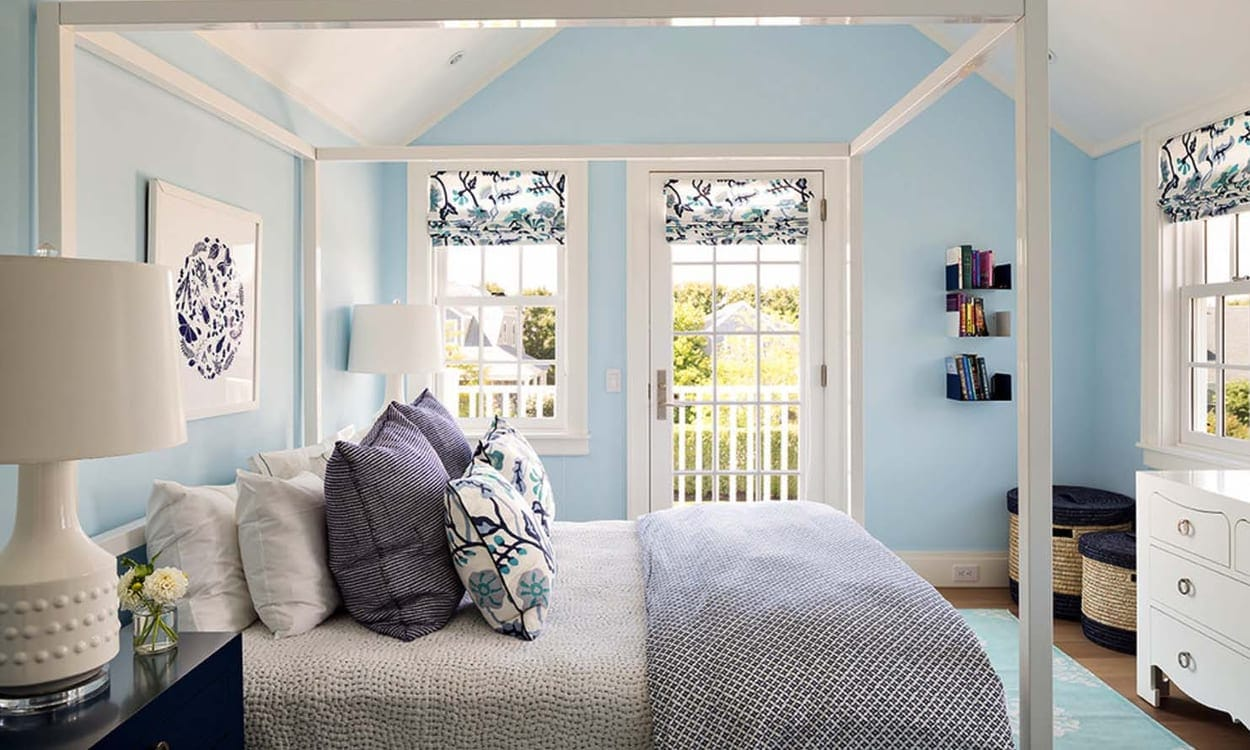 Nantucket Style Bedroom Decor