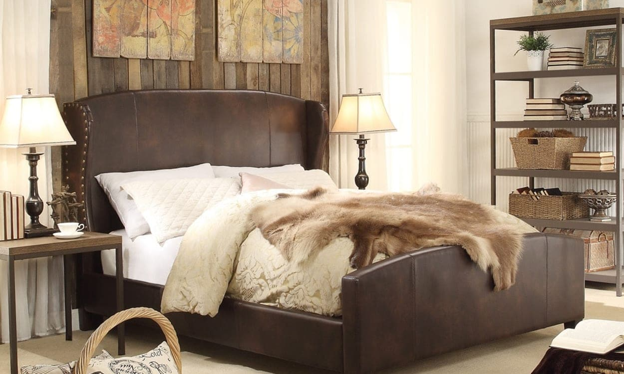 Rustic style bedroom, the perfect bedroom style for your home