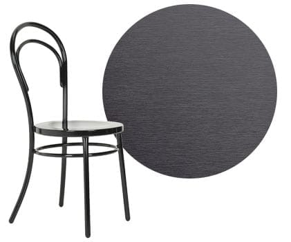 Metal dining chair, a type of dining chair material