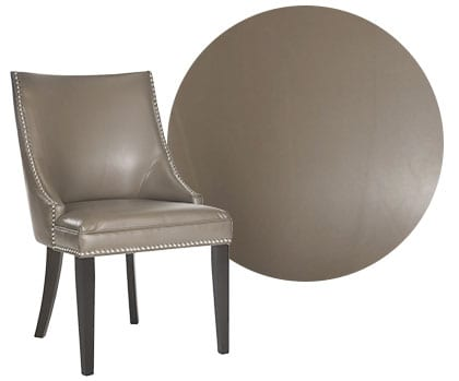 Leather dining chair, a type of dining chair material