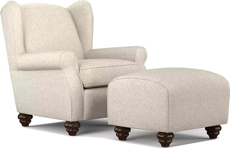 A cozy accent chair- an essential for a reading nook
