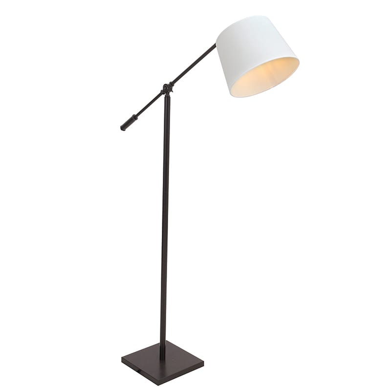 A modern floor lamp- an essential for a reading nook