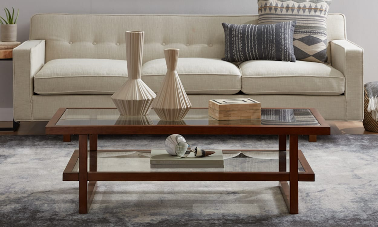 How to Style a Two-Tier Coffee Table