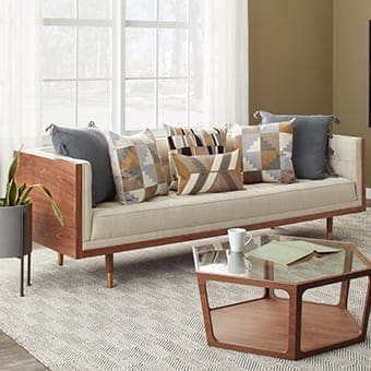How To Arrange Sofa Pillows On Any Type Of