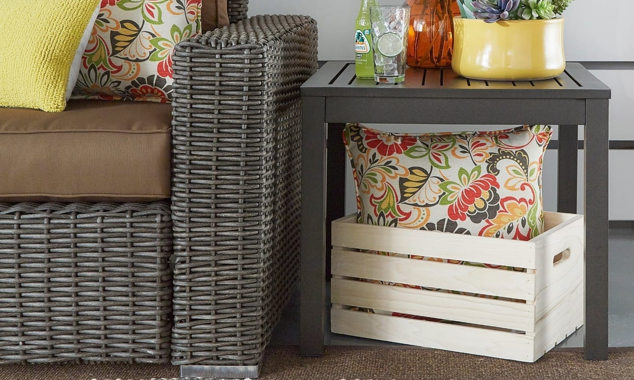 Patio Accent Tables for Small Spaces