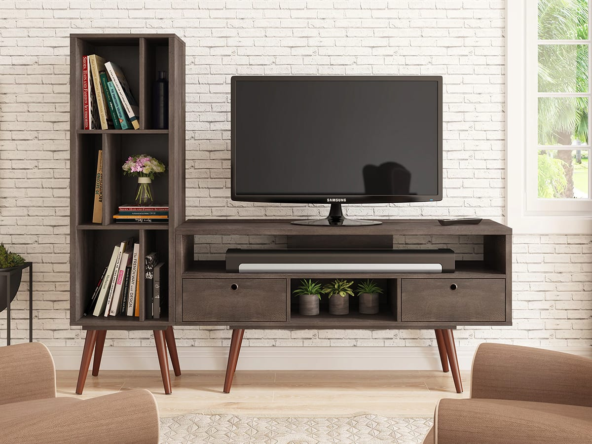 Mid-Century Modern television console