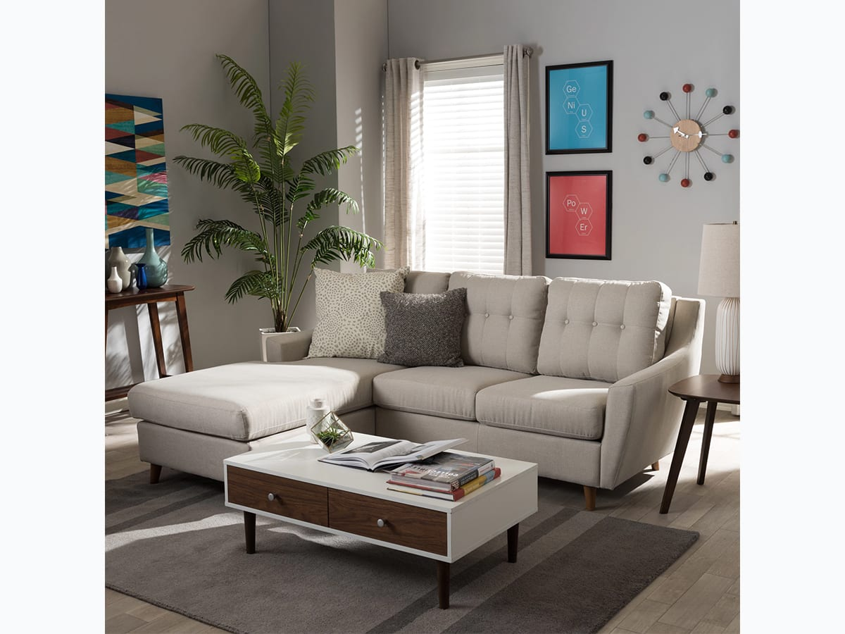 Mid Century Modern Sectional