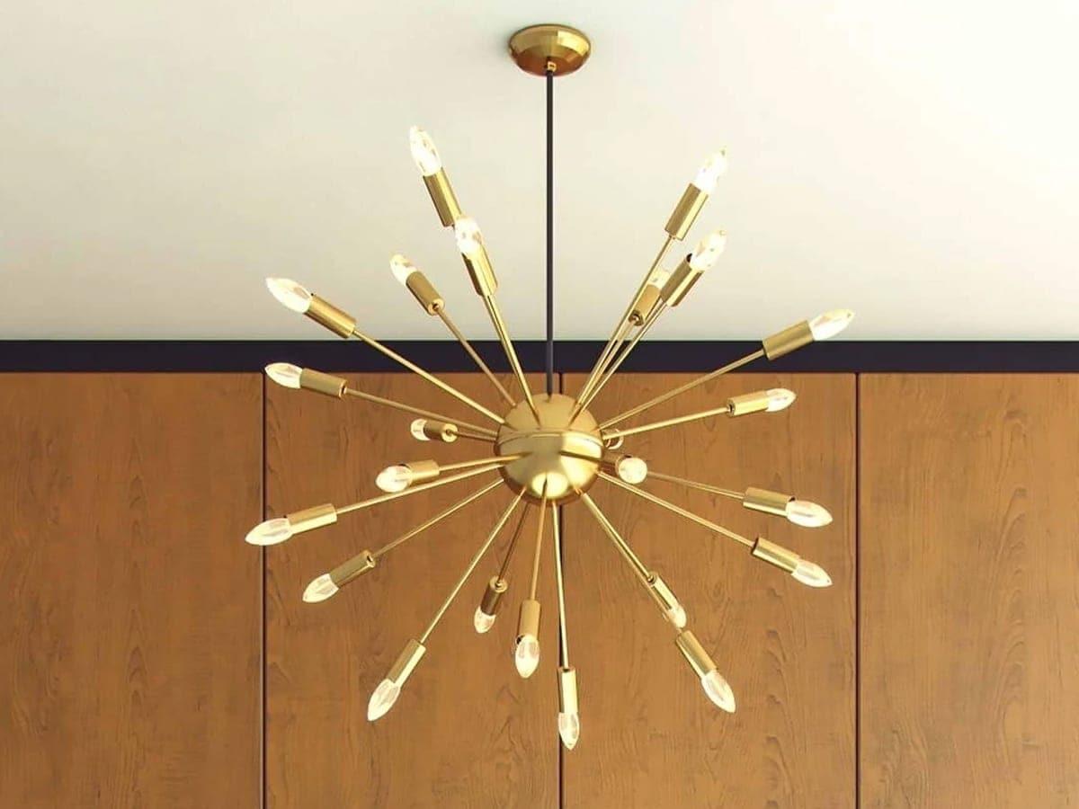 Mid-Century Modern sputnik chandelier