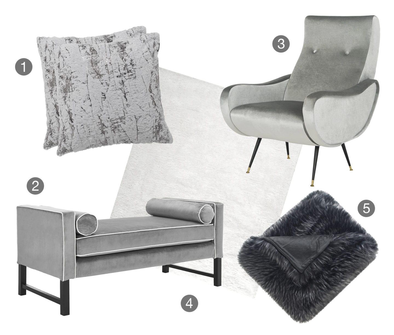 Monochromatic Grey Color Scheme