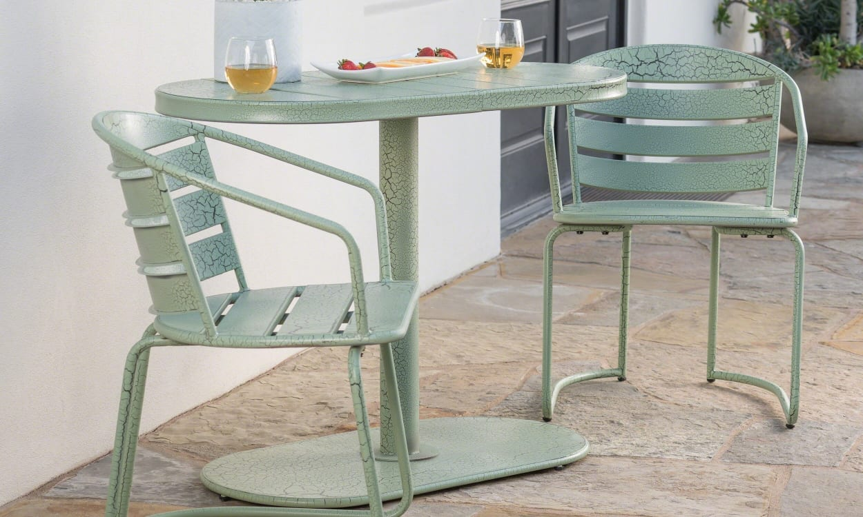 Small Outdoor Dining or Bistro Set