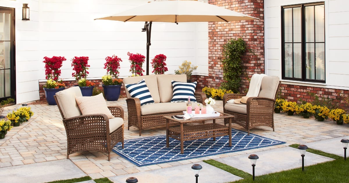 15 Ways to Furnish Your Patio on a Budget | Overstock.com on Patio Designs On A Budget id=27829