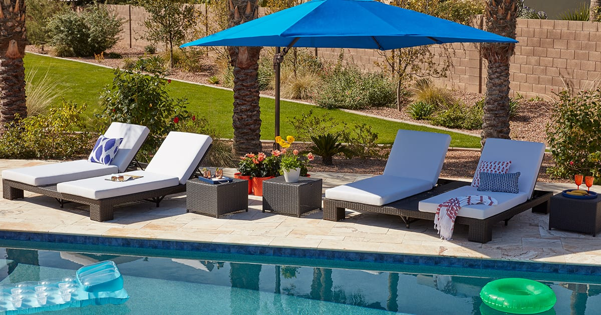 10 Fresh Pool Deck Decorating Ideas For Your Home Overstock Com