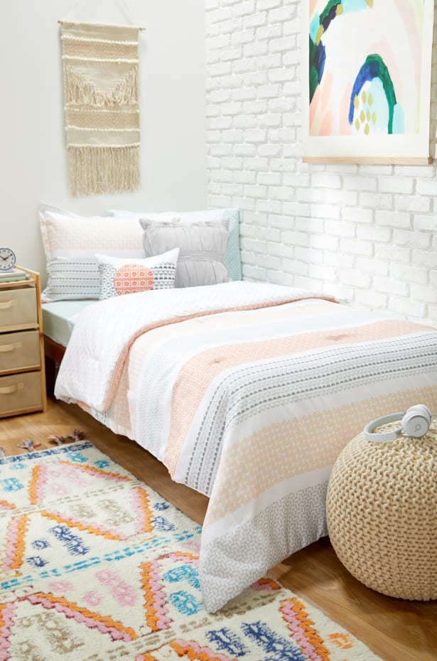 Instead of a DIY Headboard, Try a Mound of Pillows