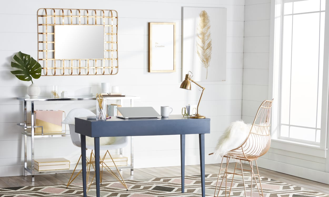 15 Genius Ways to Organize a Home Office