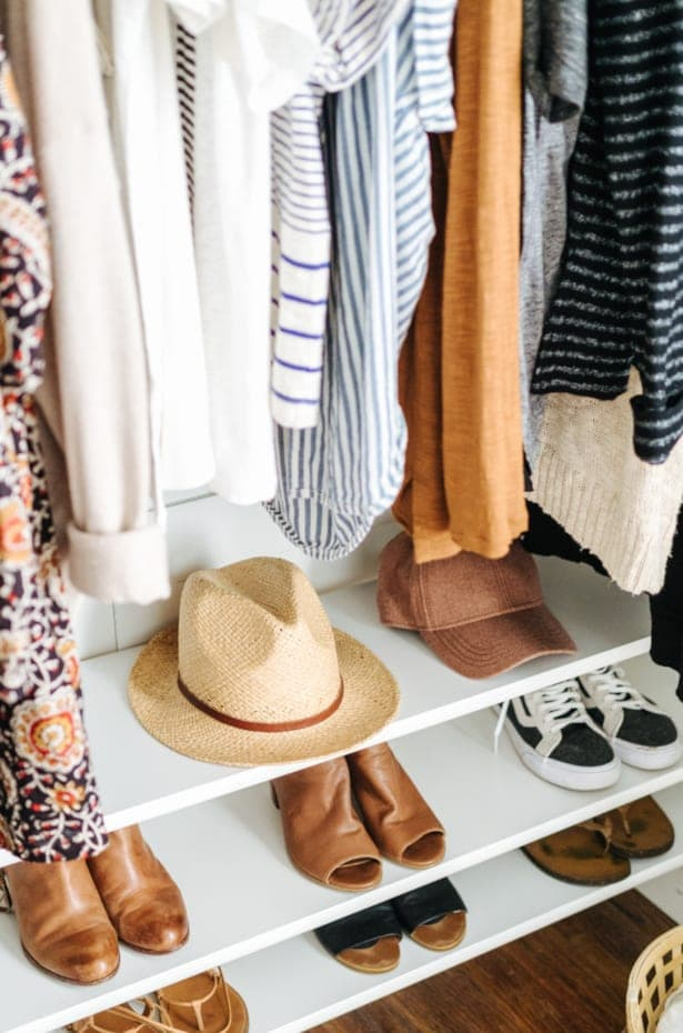 Organize Like a Clothing Store