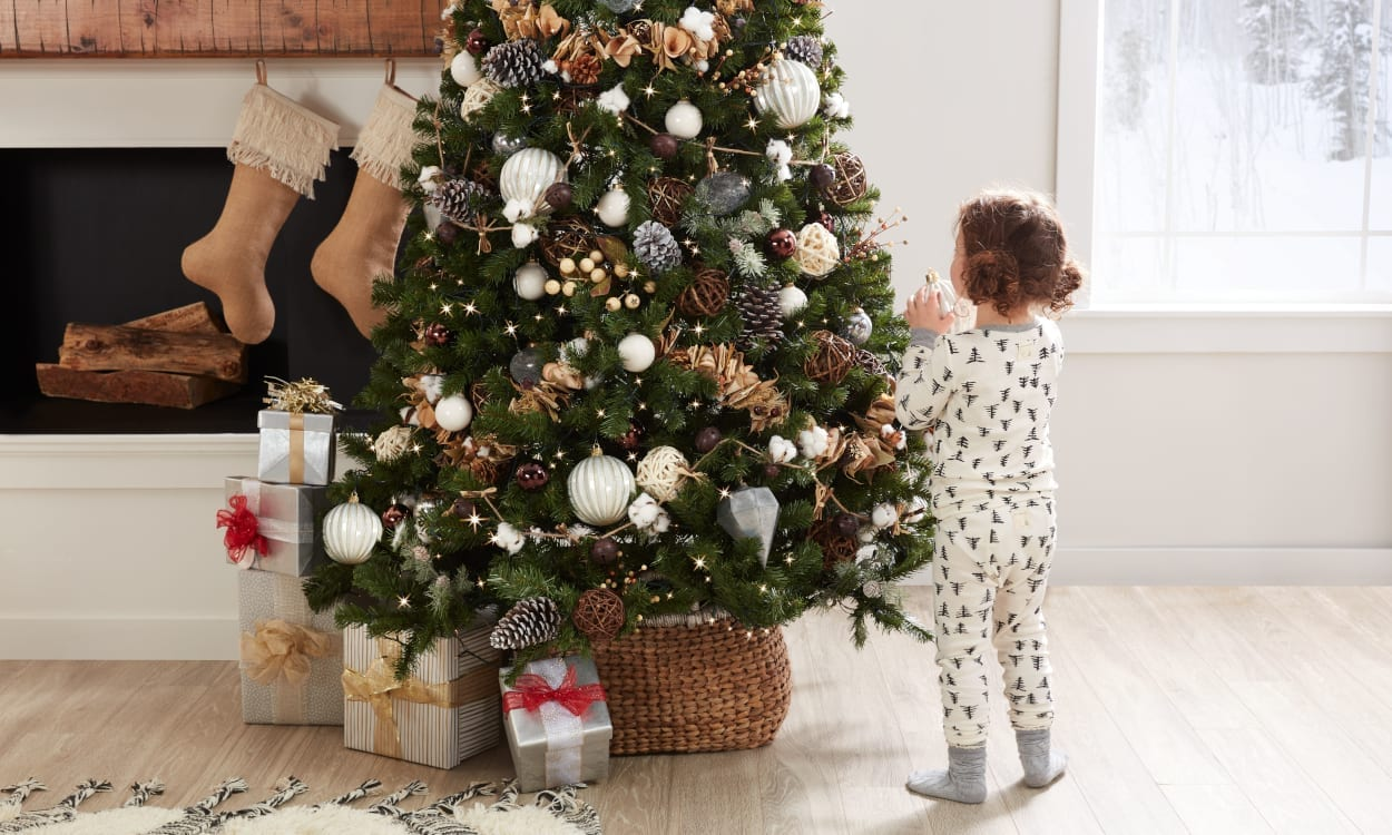 5 Ways To Toddler Proof Your Christmas Tree Overstock Com