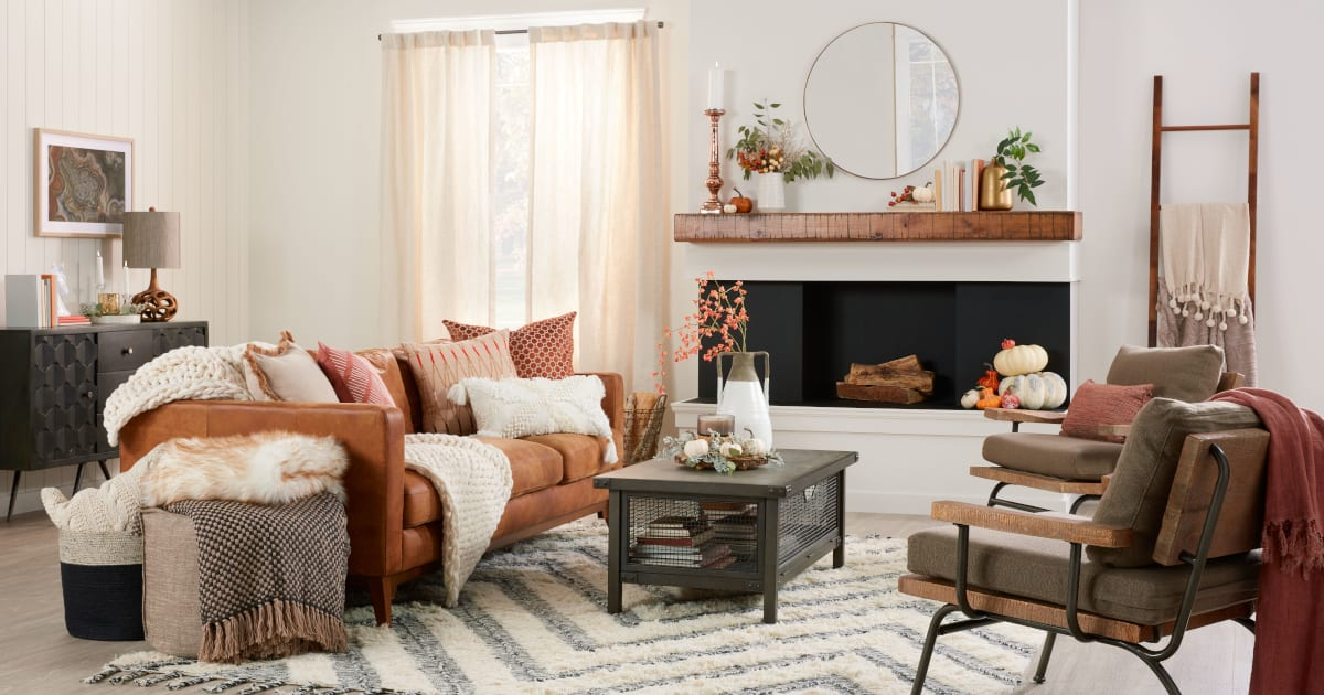 Cozy Fall Decorating Ideas For Your Home Overstock Com