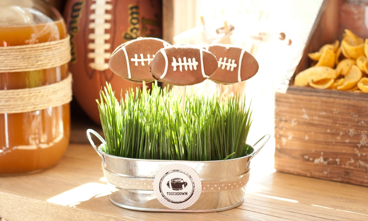 Football Food with a Thanksgiving Twist
