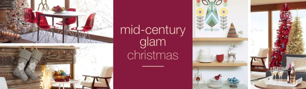 Mid-Century Glam Christmas