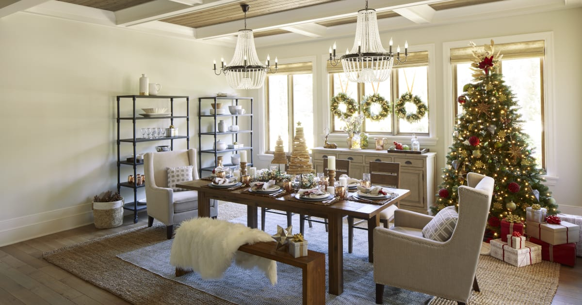 4 ways to decorate your home for a country christmas - Home interior decoration ideas ...