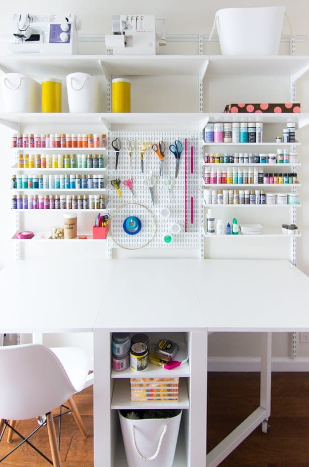 Creative Ideas For Organizing Your Craft Room Overstock Com