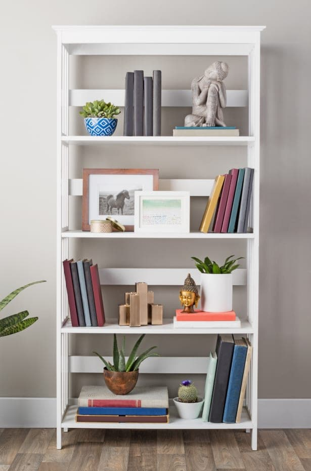 How to Decorate Shelves & Bookcases | Overstock.com