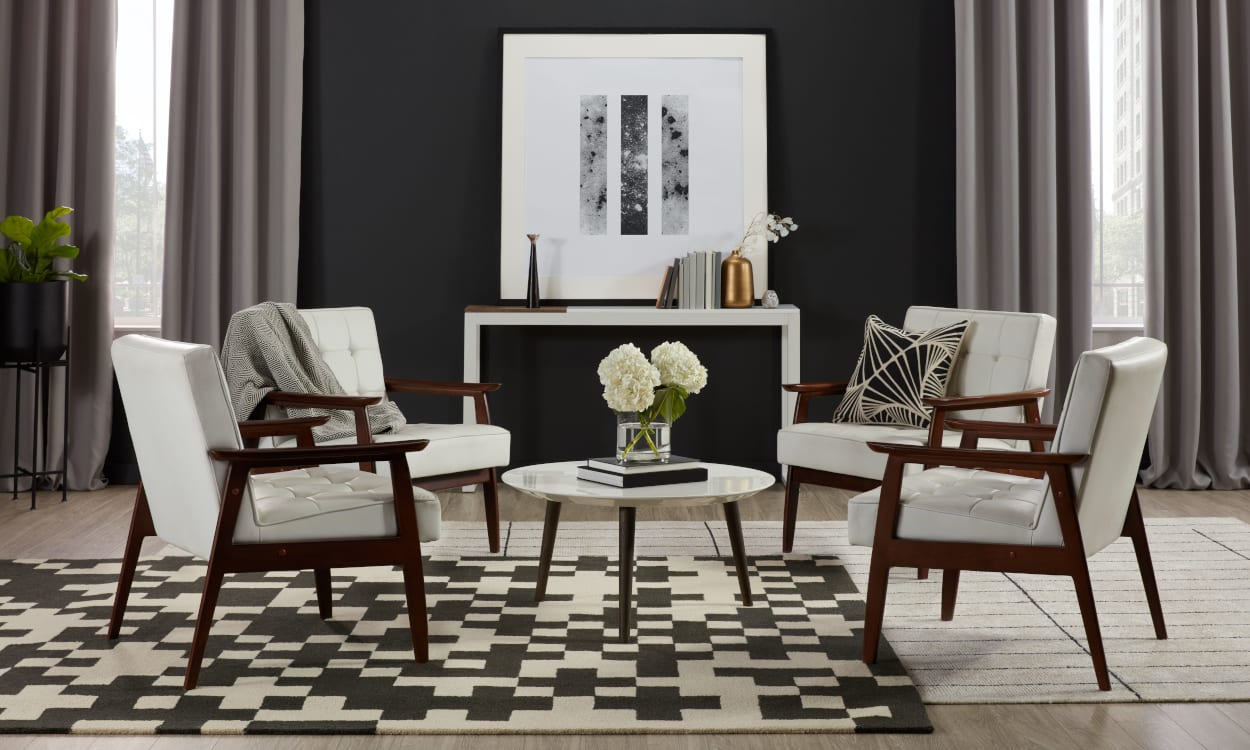 Black and White Home Decor Ideas: Use Contrast to Create a Focal Point