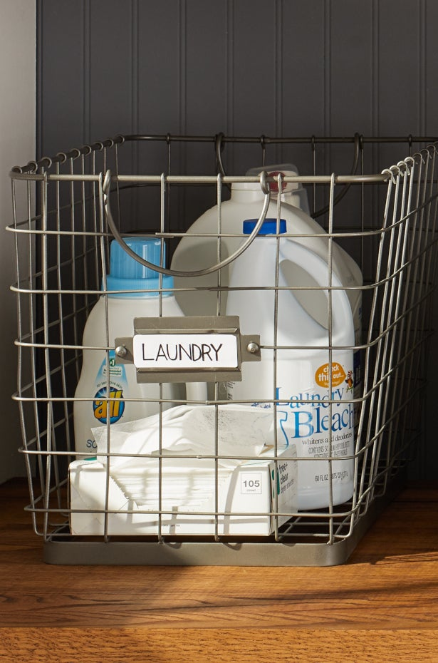 Labeled basket
