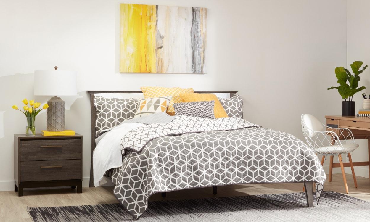 Bed Sheet Styles: Mid Century Modern
