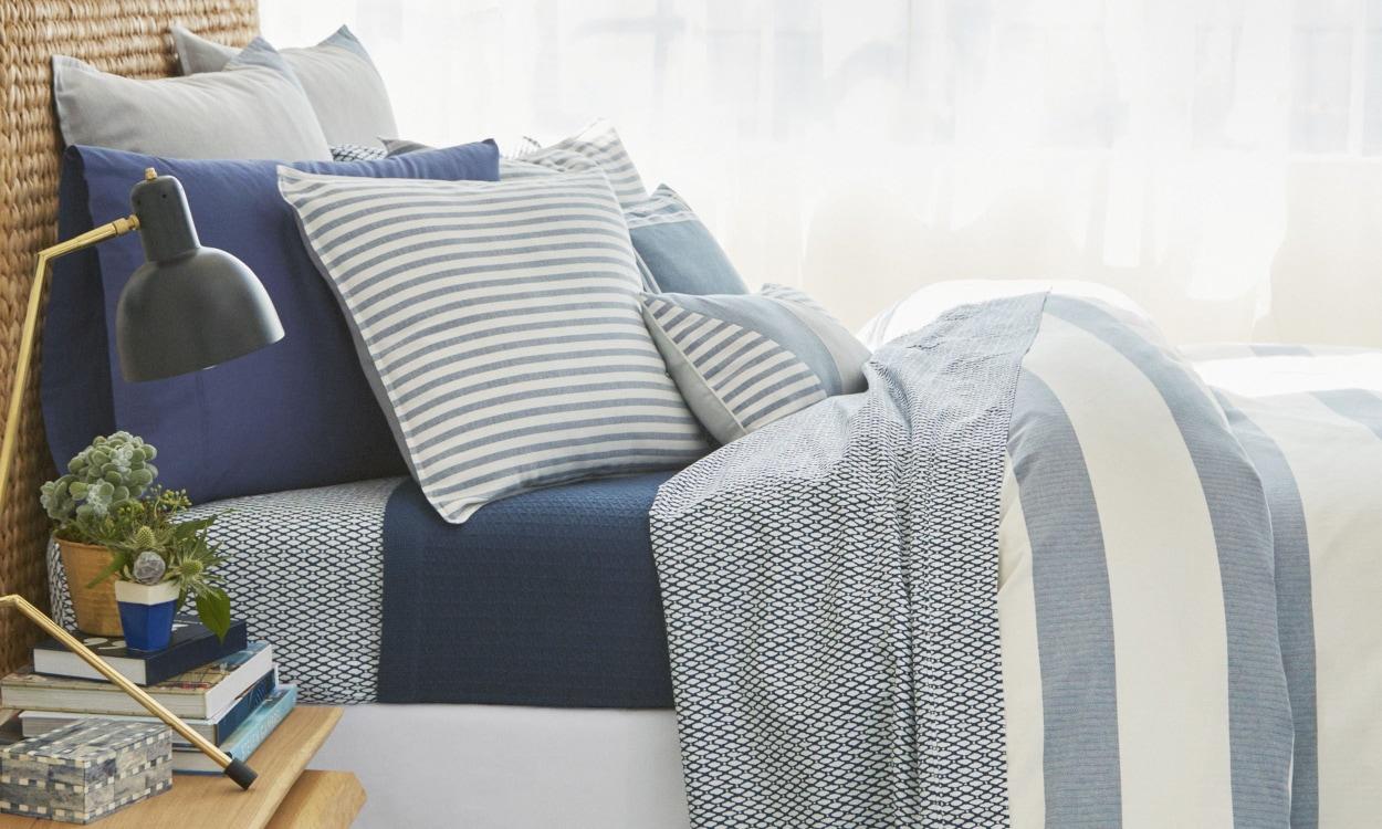 Bed Sheet Styles: Coastal