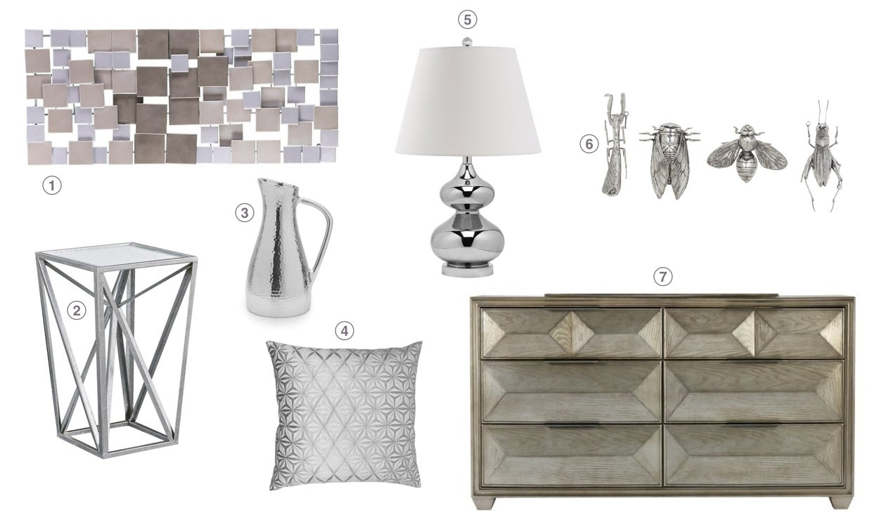 Top 10 Home Decor Trends for 2019: Brushed Silver and Nickel Accents