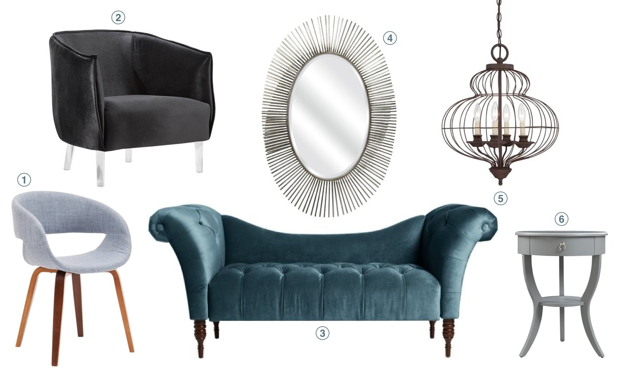 Top 10 Home Decor Trends for 2019: Curvy Furniture