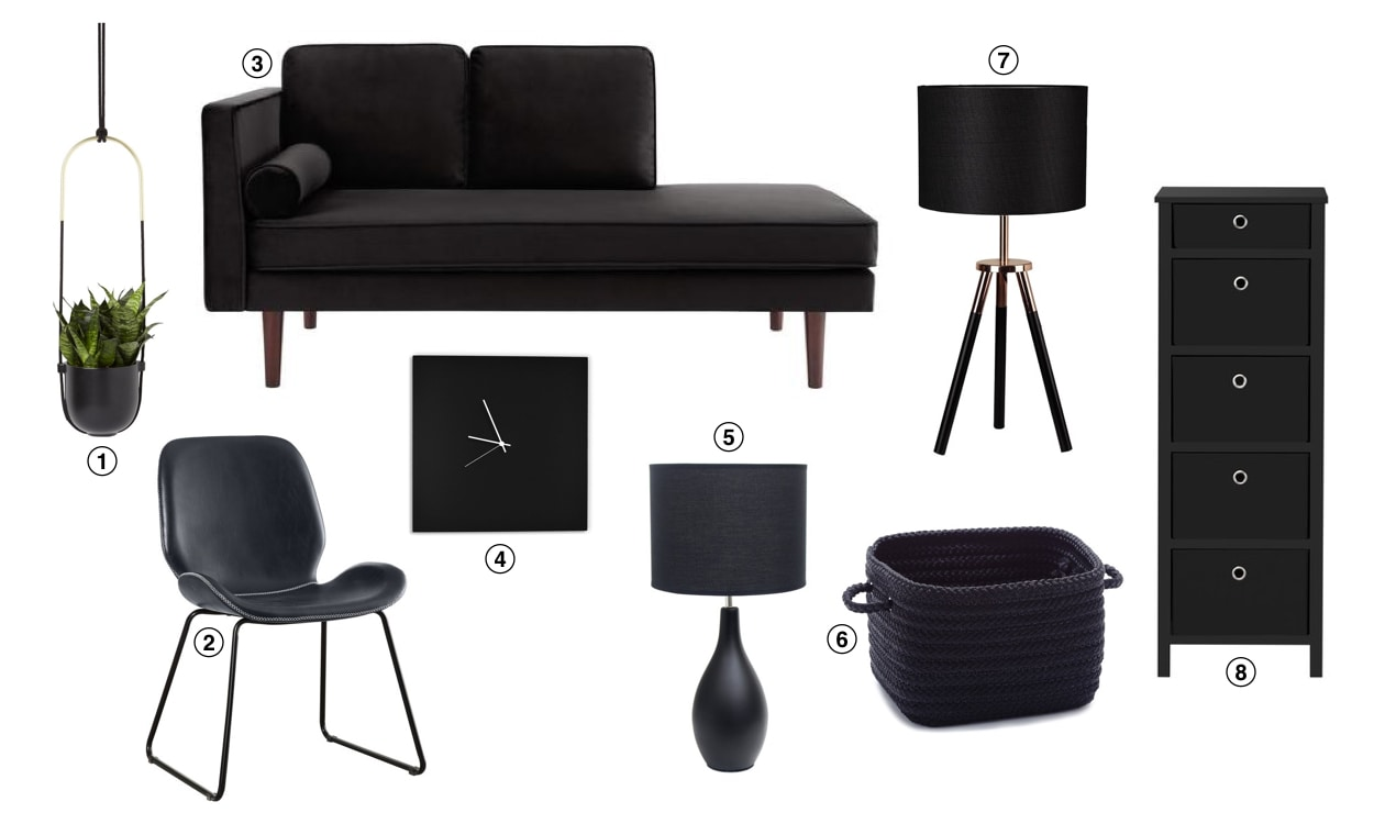 Top 10 Home Decor Trends For 2019 Matte Black Furniture